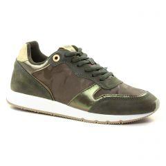 baskets-mode vert kaki: même style de chaussures en ligne pour femmes que les Mtng