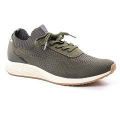 baskets-mode vert: même style de chaussures en ligne pour femmes que les Tamaris