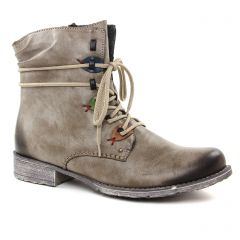 Chaussures femme hiver 2018 - boots rieker beige taupe