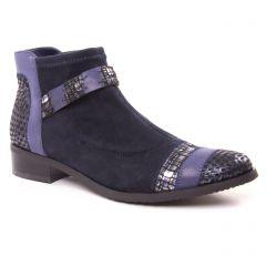 boots bleu marine: même style de chaussures en ligne pour femmes que les Fugitive
