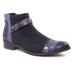 Chaussures femme hiver 2018 - boots fugitive bleu marine