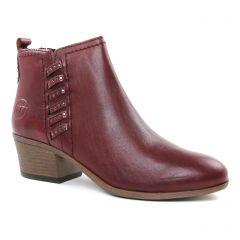 boots bordeaux: même style de chaussures en ligne pour femmes que les Marco Tozzi