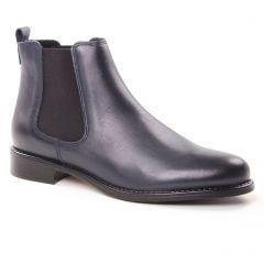 Chaussures femme hiver 2018 - boots élastiquées Scarlatine bleu marine