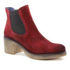 boots-chelsea bordeaux: même style de chaussures en ligne pour femmes que les Pintodiblu