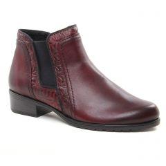 boots-chelsea bordeaux: même style de chaussures en ligne pour femmes que les Coolway