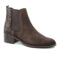 boots-chelsea marron beige: même style de chaussures en ligne pour femmes que les Scarlatine