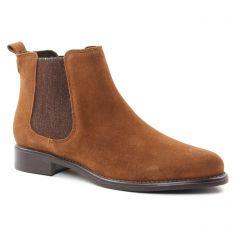 boots-chelsea marron: même style de chaussures en ligne pour femmes que les Scarlatine