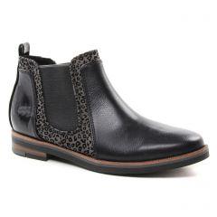 boots-chelsea noir gris: même style de chaussures en ligne pour femmes que les Scarlatine