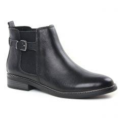 Chaussures femme hiver 2018 - boots élastiquées marco tozzi noir