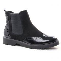 boots-chelsea noir: même style de chaussures en ligne pour femmes que les Tamaris