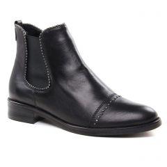 Chaussures femme hiver 2018 - boots élastiquées Remonte noir