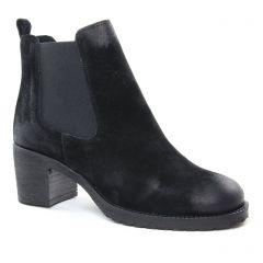 Chaussures femme hiver 2018 - boots élastiquées Scarlatine noir