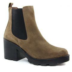 boots-chelsea taupe: même style de chaussures en ligne pour femmes que les Maria Jaén