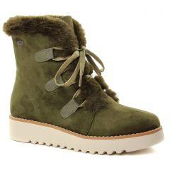 boots-fourrees kaki: même style de chaussures en ligne pour femmes que les Mtng