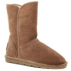 boots-fourrees marron: même style de chaussures en ligne pour femmes que les Mtng
