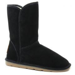 boots-fourrees noir: même style de chaussures en ligne pour femmes que les Les Tropéziennes