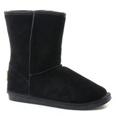 Chaussures femme hiver 2018 - boots fourrées les tropéziennes noir