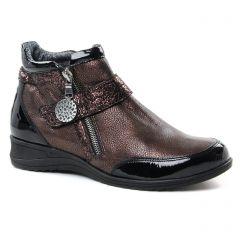 boots marro doré: même style de chaussures en ligne pour femmes que les Geo Reino