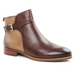 boots-jodhpur marron beige: même style de chaussures en ligne pour femmes que les Scarlatine