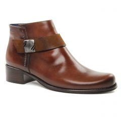 boots marron: même style de chaussures en ligne pour femmes que les Remonte