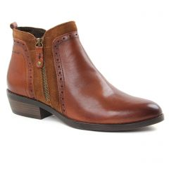 Chaussures femme hiver 2018 - boots marco tozzi marron
