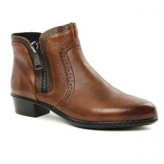Rieker Y0727-22 Chestnut : chaussures dans la même tendance femme (boots marron) et disponibles à la vente en ligne
