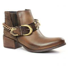 boots-chelsea marron: même style de chaussures en ligne pour femmes que les Coolway