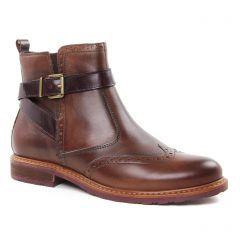 boots-jodhpur marron foncé: même style de chaussures en ligne pour femmes que les Tamaris