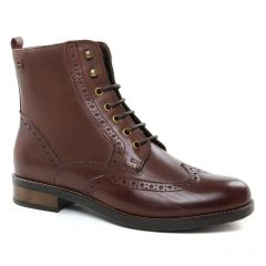 bottines-a-lacets marron: même style de chaussures en ligne pour femmes que les Mamzelle
