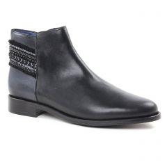 Pintodiblu 80241 Noir   Gris : chaussures dans la même tendance femme (boots noir argent) et disponibles à la vente en ligne