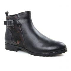 Caprice 25350 Black Camou : chaussures dans la même tendance femme (boots noir bronze) et disponibles à la vente en ligne