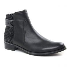 Fugitive Valejo Noir : chaussures dans la même tendance femme (boots noir) et disponibles à la vente en ligne