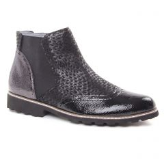 Fugitive Woipy Vernis Noir : chaussures dans la même tendance femme (boots noir) et disponibles à la vente en ligne