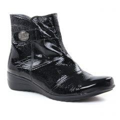 boots noir: même style de chaussures en ligne pour femmes que les Geo Reino