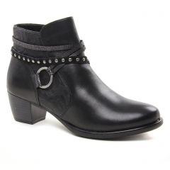 boots noir: même style de chaussures en ligne pour femmes que les Remonte