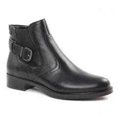 Chaussures femme hiver 2018 - boots élastiquées tamaris noir
