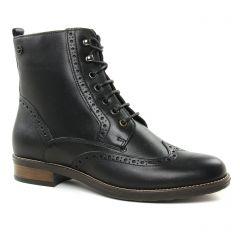 bottines-a-lacets noir: même style de chaussures en ligne pour femmes que les Tamaris