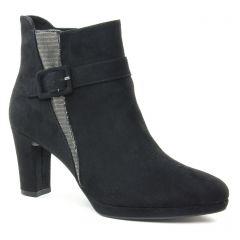 Tamaris 25363 Black Pewter : chaussures dans la même tendance femme (boots noir argent) et disponibles à la vente en ligne