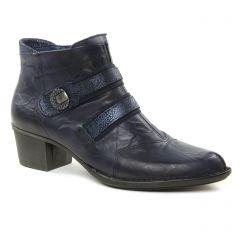 boots-talon bleu marine: même style de chaussures en ligne pour femmes que les Dorking