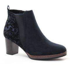 boots-chelsea bleu marine: même style de chaussures en ligne pour femmes que les Marco Tozzi