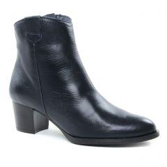 boots-talon bleu marine: même style de chaussures en ligne pour femmes que les Maria Jaén