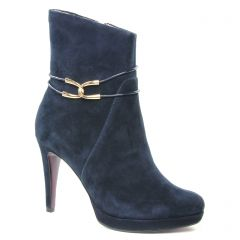 boots-talon bleu marine: même style de chaussures en ligne pour femmes que les Marco Tozzi