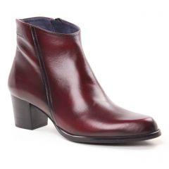 boots-talon bordeaux: même style de chaussures en ligne pour femmes que les Laura Vita