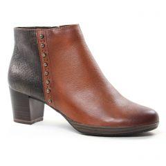 boots-confort marron noir: même style de chaussures en ligne pour femmes que les Marco Tozzi