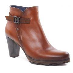 Chaussures femme hiver 2018 - boots talon Dorking marron