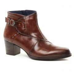 boots-talon marron: même style de chaussures en ligne pour femmes que les Pikolinos