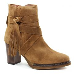 boots-talon marron: même style de chaussures en ligne pour femmes que les Maria Jaén