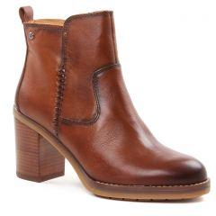Chaussures femme hiver 2018 - boots talon Pikolinos marron