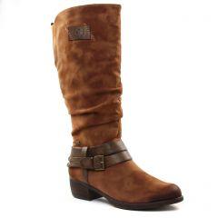 Rieker 93158-24 Reh Nubia : chaussures dans la même tendance femme (boots-talon marron) et disponibles à la vente en ligne