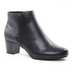 boots-confort noir argent: même style de chaussures en ligne pour femmes que les Marco Tozzi